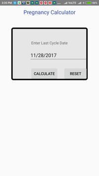 Pregnancy Calculator apk screenshot