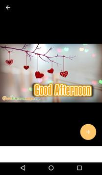 Messages and Gifs of Good Morning Afternoon Night screenshot 5