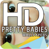 Pretty Babies Live Wallpapers HD icon