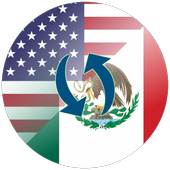 US Dollar to Mexican Peso or MXN to USD icon