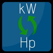 Convert kW to Hp (Mechanical) | Hp to Kilowatts icon