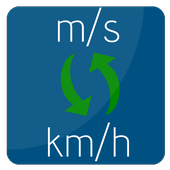 m/s to km/h   kilometers/hour to meters/second icon