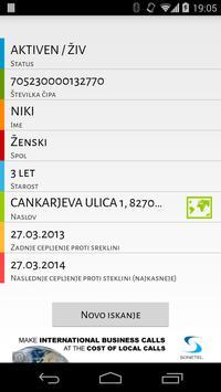 Centralni register psov screenshot 2