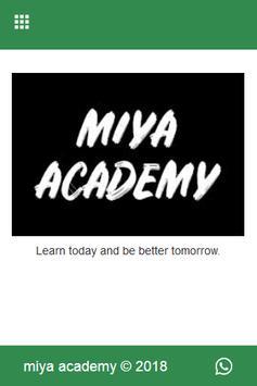 miya academy primary 5 poster