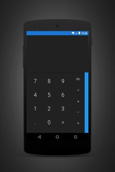 Prime Blue Dark - Layers Theme apk screenshot