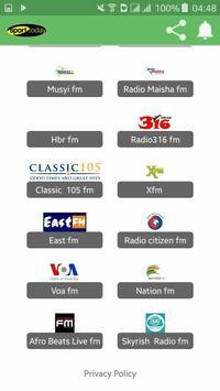 Kenya Radio Stations poster