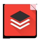 Prime Red Black - Layers Theme icon