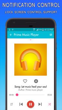 Prime Music Player: Free Music apk screenshot