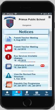 Primus Public School apk screenshot