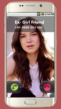 Fake Call Prank apk screenshot