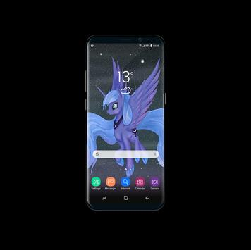 Princess Luna Pony Wallpaper apk screenshot