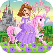 Princess Sofia with Horse icon