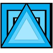 Prisma photo frame and editor icon