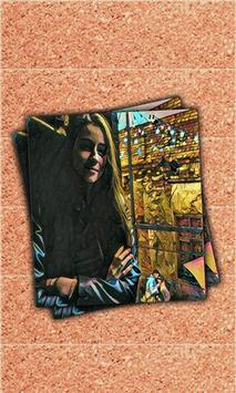 Prisma photo frame and editor poster