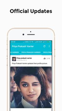 Priya Prakash Varrier screenshot 1