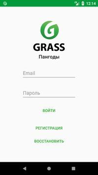 Grass Пангоды poster