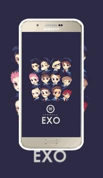 EXO wallpaper HD Best art apk screenshot