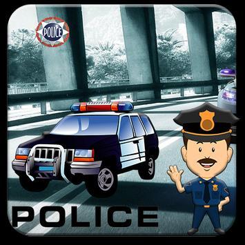 Police runner poster