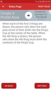 Modern Kings Cup screenshot 3