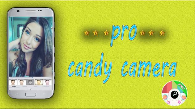 PRO Candy Camera Advice poster