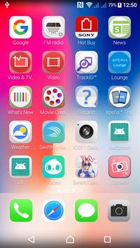 iLauncher Iphone X - iOS 11 Launcher screenshot 3
