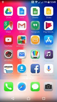 iLauncher Iphone X - iOS 11 Launcher screenshot 4