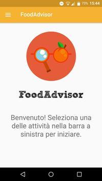 FoodAdvisor poster