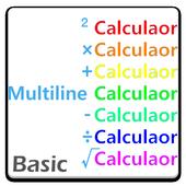 Multiline Calculator Basic icon