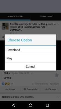 Tubev Video downloader apk screenshot