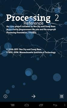 Processing Reference poster
