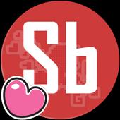 Sticker Bomb Valentine Edition icon