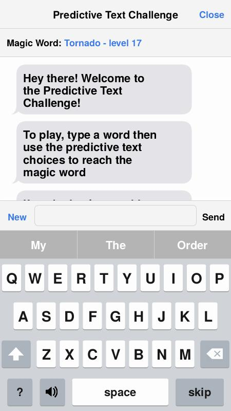 Predictive Text Challenge for Android - APK Download