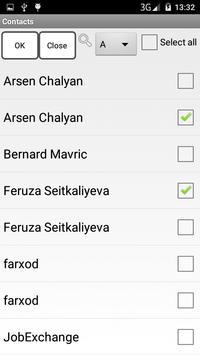 SMS Sending apk screenshot