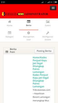 Tribrata News Lampung apk screenshot