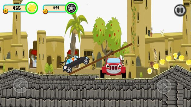 Fireboy & watergirl hill climb apk screenshot