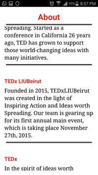 TEDxLIUBeirut screenshot 2