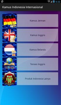 Kamus Indonesia Internasional poster