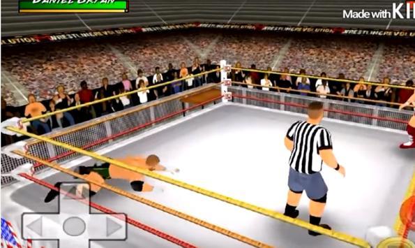 Guide For Wrestling Revolution 3D screenshot 1