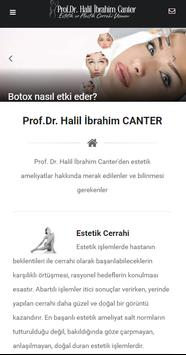 Prof.Dr. Halil İbrahim CANTER poster