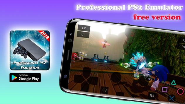 Professional PS2 Emulator - PS2 Free 2018 स्क्रीनशॉट 2