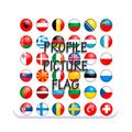 picture profile flag