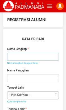 Alumni Padmanaba Apps apk screenshot