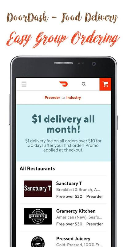 Food Delivery Doordash Guide Cho Android Tải Về Apk