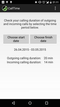 CallTime screenshot 1