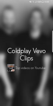 Hot Clips for Coldplay Vevo poster