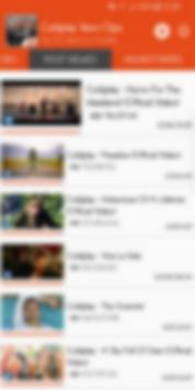 Hot Clips for Coldplay Vevo screenshot 1