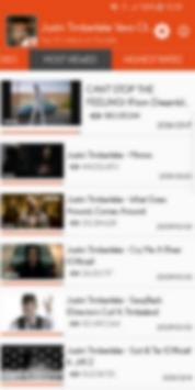 Hot Clips for Justin Timberlake Vevo screenshot 1
