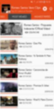 Hot Clips for Romeo Santos Vevo screenshot 1