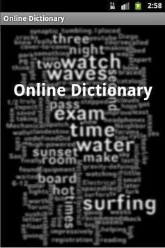 OnLine Dictionary poster