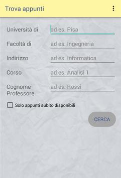 FindNotes screenshot 1